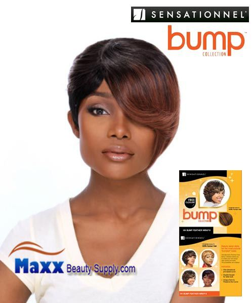 Sensationnel Bump Collection Human Hair Weave - Bump Feather Wrap 6""